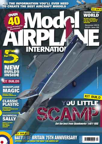 Model Airplane International issue 125