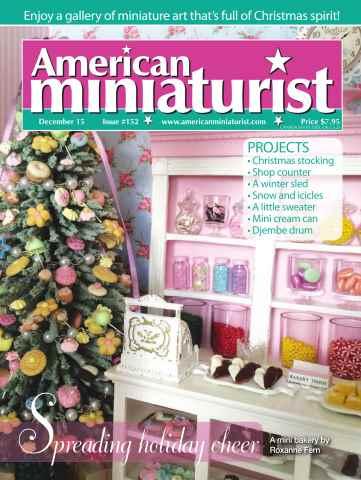 American Miniaturist issue Issue 152