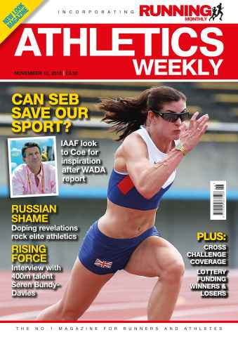 Athletics Weekly issue 12 November 2015