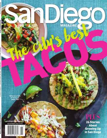 San Diego Magazine issue November 2015