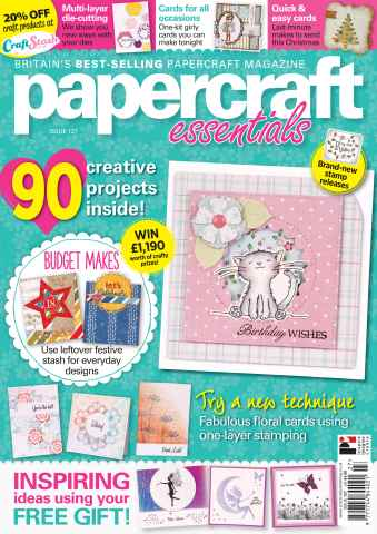 Papercraft Essentials issue 127