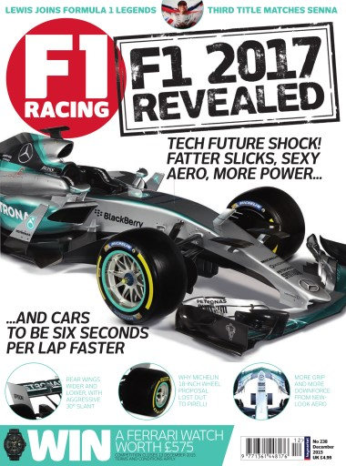 F1 Racing issue December 2015