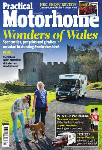 Practical Motorhome issue January 2016