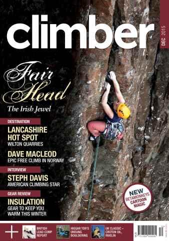 Climber issue December 2015