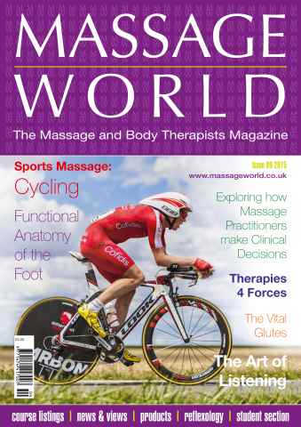Massage World issue Massage World 89