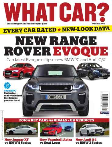 What Car Magazine issue January 2016