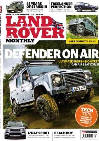 Land Rover Monthly issue January 2016