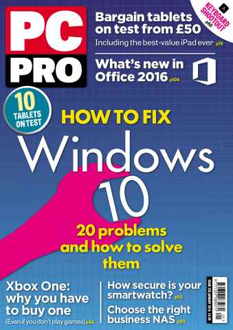 PC Pro issue January 2016