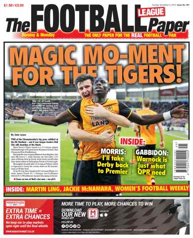The Football League Paper issue 8th November 2015