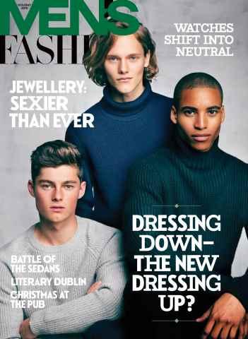Fashion Magazine issue Men's Holiday