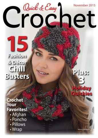 Quick & Easy Crochet issue Fall 2015