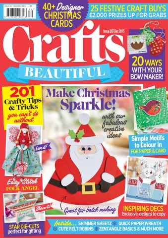 Crafts Beautiful issue Dec-15