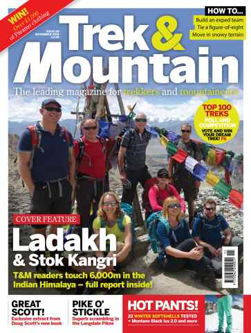 Trek & Mountain Magazine issue Nov-15
