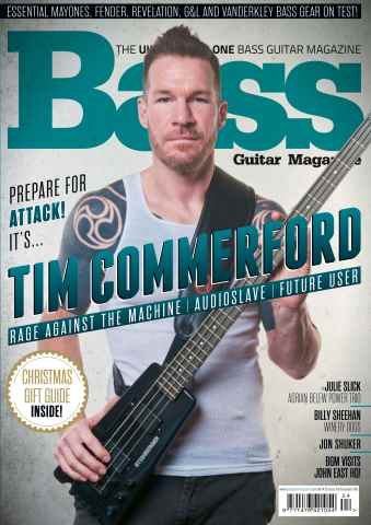 Bass Guitar issue December 2015