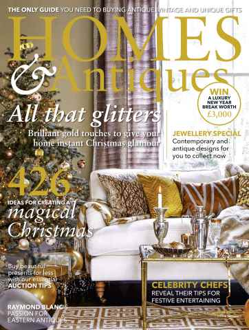 Homes & Antiques Magazine issue December 2015