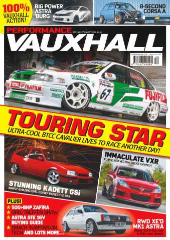 Performance Vauxhall issue No. 178 Touring Star