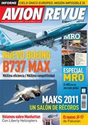 Avion Revue Internacional España issue Número 352 Octubre 2011