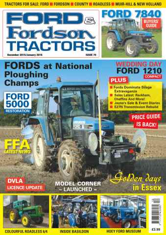 Ford & Fordson issue No. 70 Fords at National Ploughing Champs