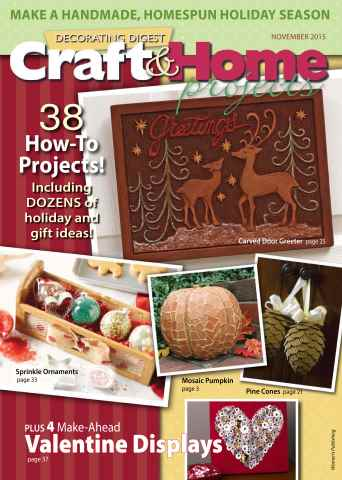 Craft & Home Projects issue Fall 2015