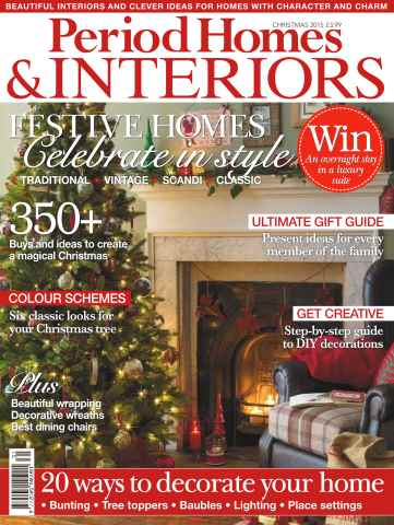 British Period Homes issue No. 66 Festive Homes