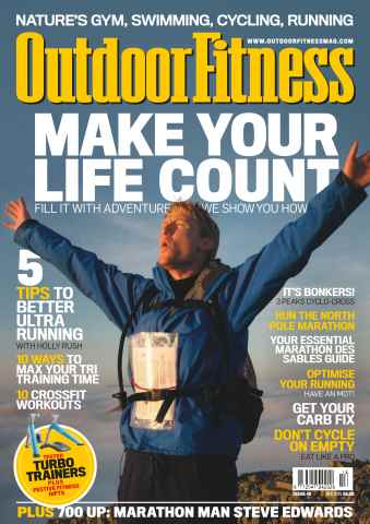 Outdoor Fitness issue No. 49 Make Your Life Count