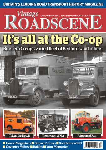 Vintage Roadscene issue No. 193 It's all about the Co-op