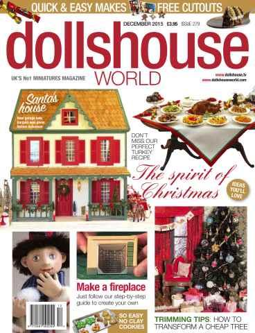 Dolls House World issue DECEMBER 2015