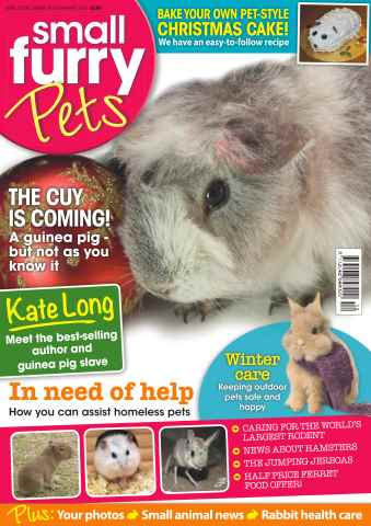 Small Furry Pets issue No. 25 The Cuy Is Coming!