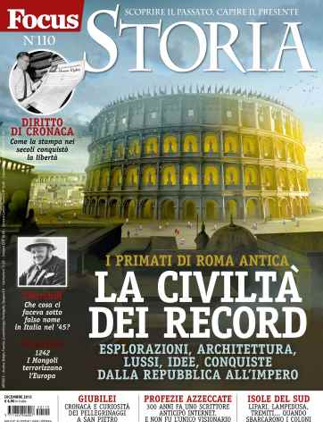 FOCUS STORIA issue 110 - Dicembre 2015
