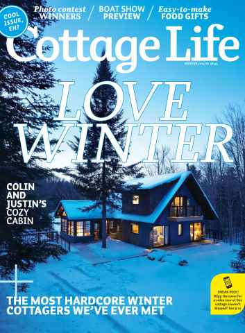 Cottage Life issue Winter 2015