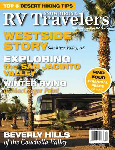 Snowbirds & RV Travelers issue Dec 15/Jan 16