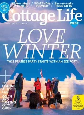 Cottage Life West issue Winter 2015