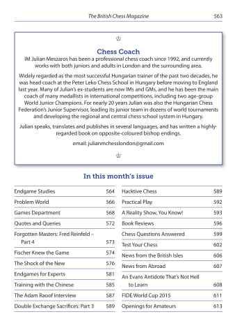 British Chess Magazine Preview 3