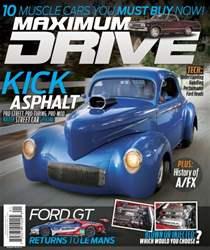 Maximum Drive issue January-February  2016