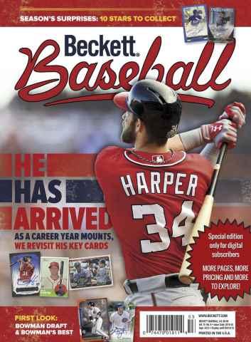 Beckett Baseball issue Baseball Special Edition 8