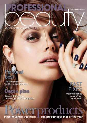 Professional Beauty issue Professional Beauty December 2015