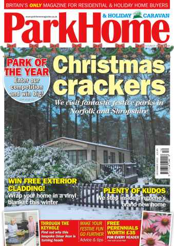 Park Home & Holiday Caravan issue No. 669 Christmas Crackers