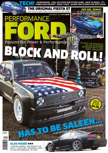 Performance Ford issue December 2015