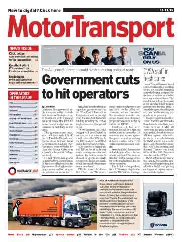 Motor Transport issue 16 November 2015