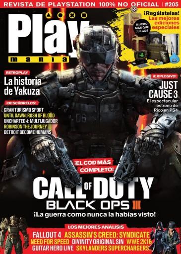 Playmania issue 205