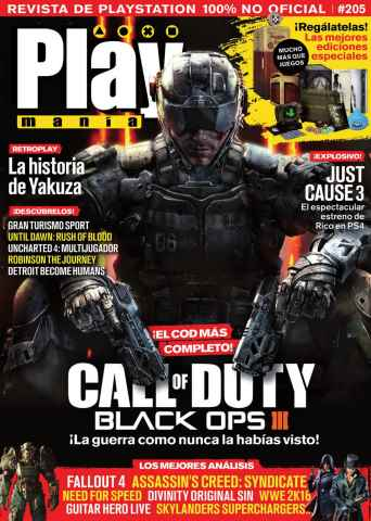 Playmania issue 205