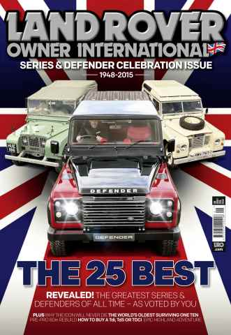 Land Rover Owner issue January 2016
