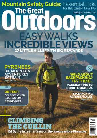 TGO - The Great Outdoors Magazine issue December 2015