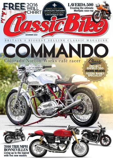 Classic Bike issue December 2015