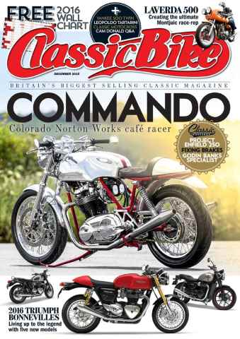 Classic Bike issue December 2015