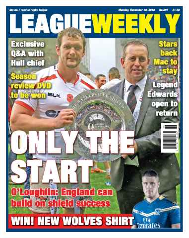 League Weekly issue 15/11/2015