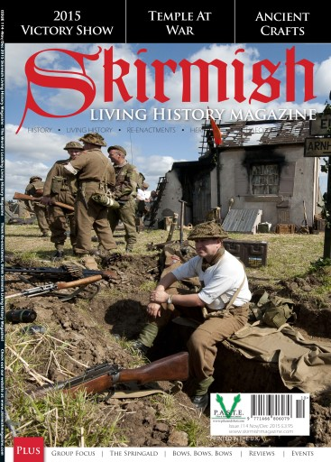 Skirmish Living History issue Skirmish Magazine Issue 114