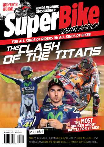 SuperBike South Africa issue December issue