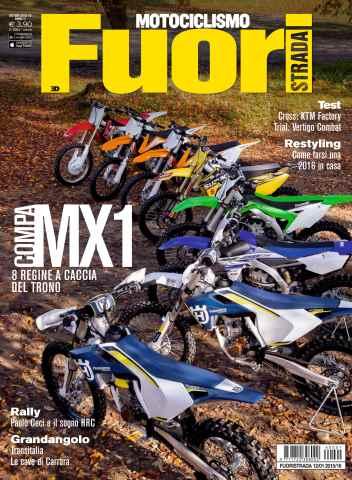 Motociclismo Fuoristrada issue Motociclismo Fuoristrada 12 2015-1 2016
