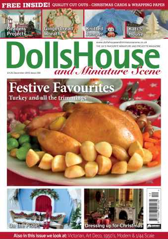 Dolls House and Miniature Scene issue December 2015 (Iss 259)